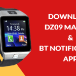 Download DZ09 Smartwatch User Manual and BT Notifier App (QR Code)