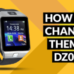 How to Change Theme on DZ09 Smartwatch Phone